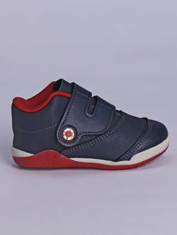 Tenis-Kidy-Infantil-para-Bebe-Menino---Azul-Marinho-vermelho