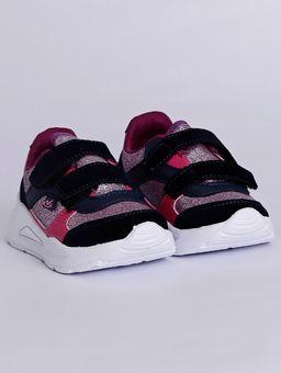 Tenis-com-Velcro-Infantil-para-Bebe-Menina---Azul-Marinho-roxo