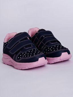 Tenis-Velcro-Infantil-Para-Bebe-Menina---Azul-rosa-20