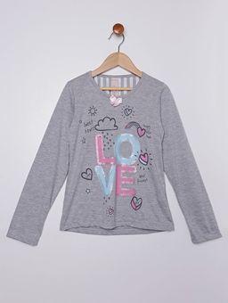Pijama-Longo-Infantil-Para-Menina---Cinza-bege-6
