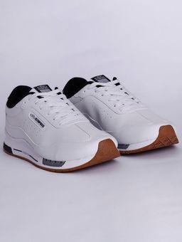Tenis-Casual-Olympikus-Quasar-Masculino-Branco-preto-37