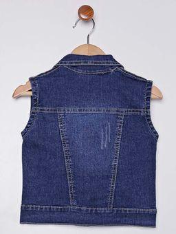 Colete-Jeans-com-Pompom-Infantil-Para-Menina---Azul-1