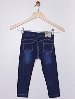 Calca-Jeans-Estampada-de-Estrelas-Infantil-Para-Menina---Azul-1