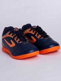 Tenis-Futsal-Topper-Cup-Iii-Infantil-Para-Menino---Azul-laranja-28