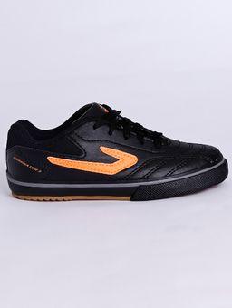 Tenis-Futsal-Topper-Dominator-Iii-Jr-Infantil-Para-Menino---Preto-laranja-28