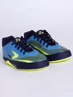 Tenis-Futsal-Topper-Recreio-Iv-Infantil-Para-Menino---Azul-amarelo-Neon-31