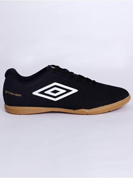 Tenis-Futsal-Umbro-Striker-6-Masculino-Preto-branco-37