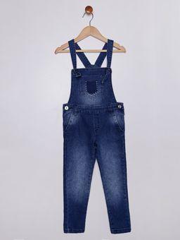 Macacao-Jardineira-Jeans-Infantil-para-Menina---Azul