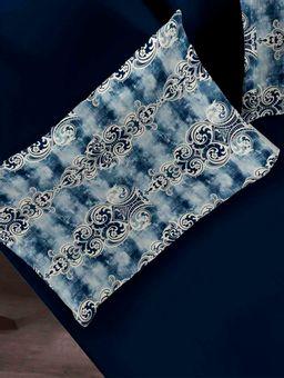 Jogo-de-Lencol-Casal-Simples-Portallar-Azul-Marinho