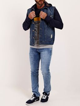 Colete-Jeans-com-Capuz-Masculino-Azul-P