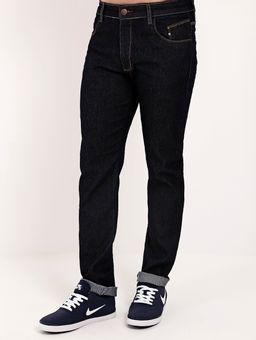 Calca-Jeans-Skinny-com-Bolso-para-Celular-Masculina-Azul