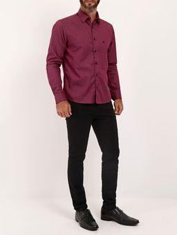 Camisa-Slim-Fit-Manga-Longa-Masculina-Bordo