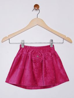 Saia-Veludo-Infantil-para-Menina--Rosa