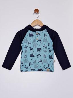 Camiseta-com-Capuz-Infantil-para-Bebe-Menino---Azul-Marinho-azul