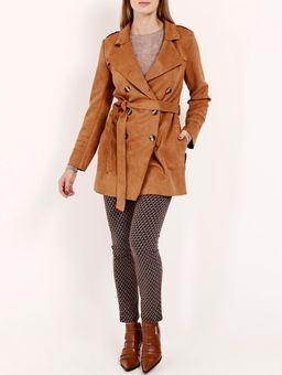 Casaco-Trench-Coat-Feminino-Caramelo