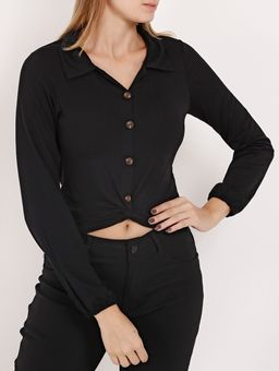 Camisa-Viscose-Manga-Longa-Feminina-Preto