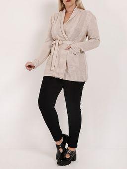 Cardigan-com-Amarracao-Plus-Size-Feminino-Bege