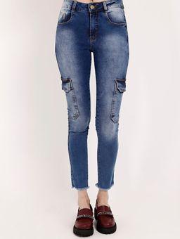 Calca-Cargo-Jeans-Amuage-Feminina-Azul-36