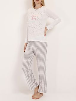 Pijama-Longo-Feminino-Bege-cinza-P