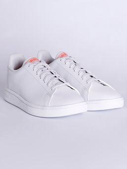 Tenis-Casual-Adidas-Advantage-Base-Feminino-Branco-34