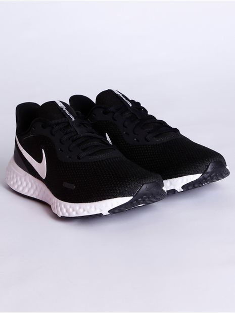 Tenis-Esportivo-Nike-Revolution-5-Feminino-Preto-branco-34