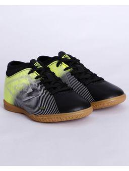 Tenis-Futsal-Umbro-Vibe-Ii-Jr-Indoor-Infantil-Para-Menino---Preto-verde-prata-32