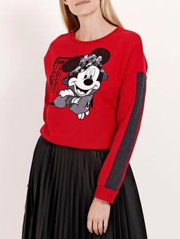 Moletom-Fechado-Disney-Feminino-Vermelho-P