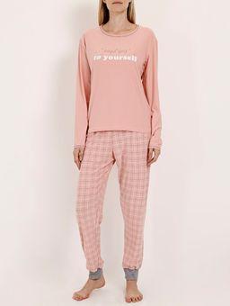 Pijama-Longo-Xadrez-Feminino-Rosa