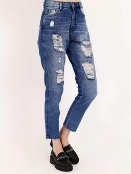 Calca-Jeans-Mom-Destroyed-Bivik-Feminina-Azul