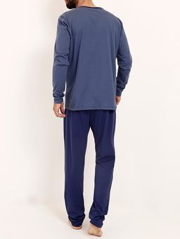 Pijama-Longo-Masculino-Azul-Marinho-azul-P