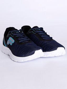 Tenis-Esportivo-Fila-Volt-Infantil-Para-Menino---Azul-Marinho-prata-30