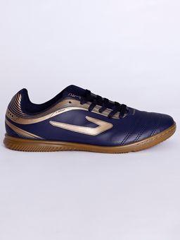 Tenis-Futsal-Topper-Cup-Iii-Indoor-Masculino-Azul-Marinho-dourado-37