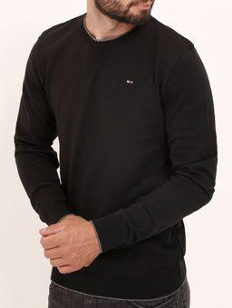 Blusao-Liso-Tricot-Masculino-Preto