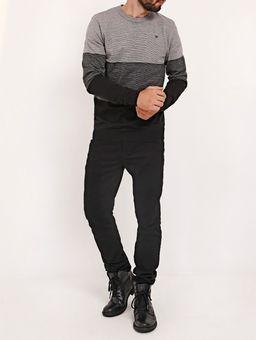 Blusao-Tricot-Masculino-Cinza-preto