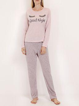 Pijama-Longo-Malha-Good-Night-Feminino-Rosa-cinza