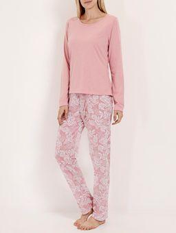 Pijama-Longo-Malha-Feminino-Rosa-branco