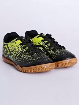 Tenis-Futsal-Umbro-Acid-Ii-Jr-Indoor-Infantil-Para-Menino---Preto-verde-28