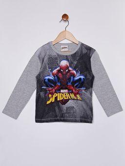 Camiseta-Manga-Longa-Spiderman-Infantil-Para-Menino---Cinza-1