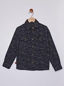 Camisa-Sarja-Manga-Longa-Infantil-Para-Menino---Cinza-6