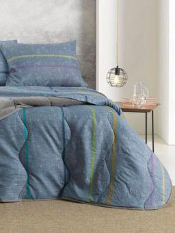 Edredom-Casal-Altenburg-New-Confort-Cinza-azul