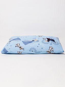 Fronha-Frozen-II-Azul