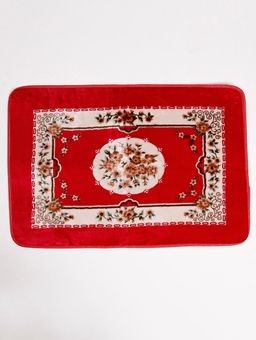 Tapete-Floral-Jolitex-Vermelho
