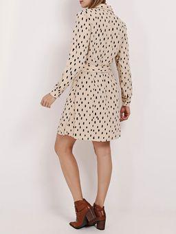 Vestido-Chemise-Autentique-Feminino-Bege