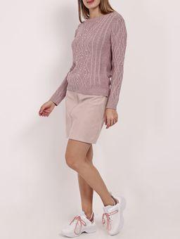 Blusa-de-Tricot-com-Perolas-Feminina-Rose