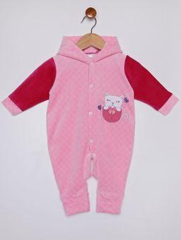 Macacao-com-Capuz-Infantil-Para-Bebe-Menina---Rosa-P