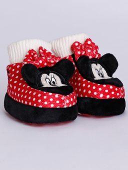 Pantufa-Minnie-Mouse-Infantil-para-Bebe-Menina---Vermelho