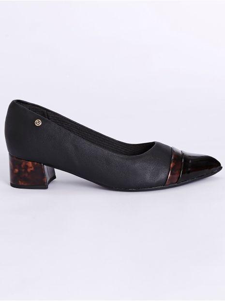 Sapato-Scarpin-Bico-Fino-Salto-Medio-Piccadilly-Preto-marrom