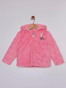 Jaqueta-com-Capuz-Infantil-para-Menina---Rosa-Pink