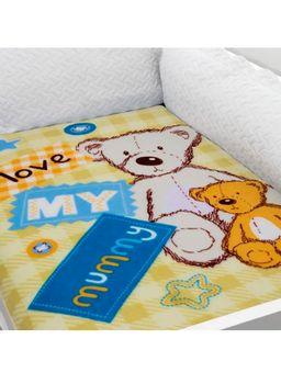 Cobertor-Bebe-Inter-Home-Amarelo