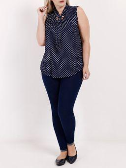 Blusa-Regata-Plus-Size-Feminina-Azul-Marinho-G2
